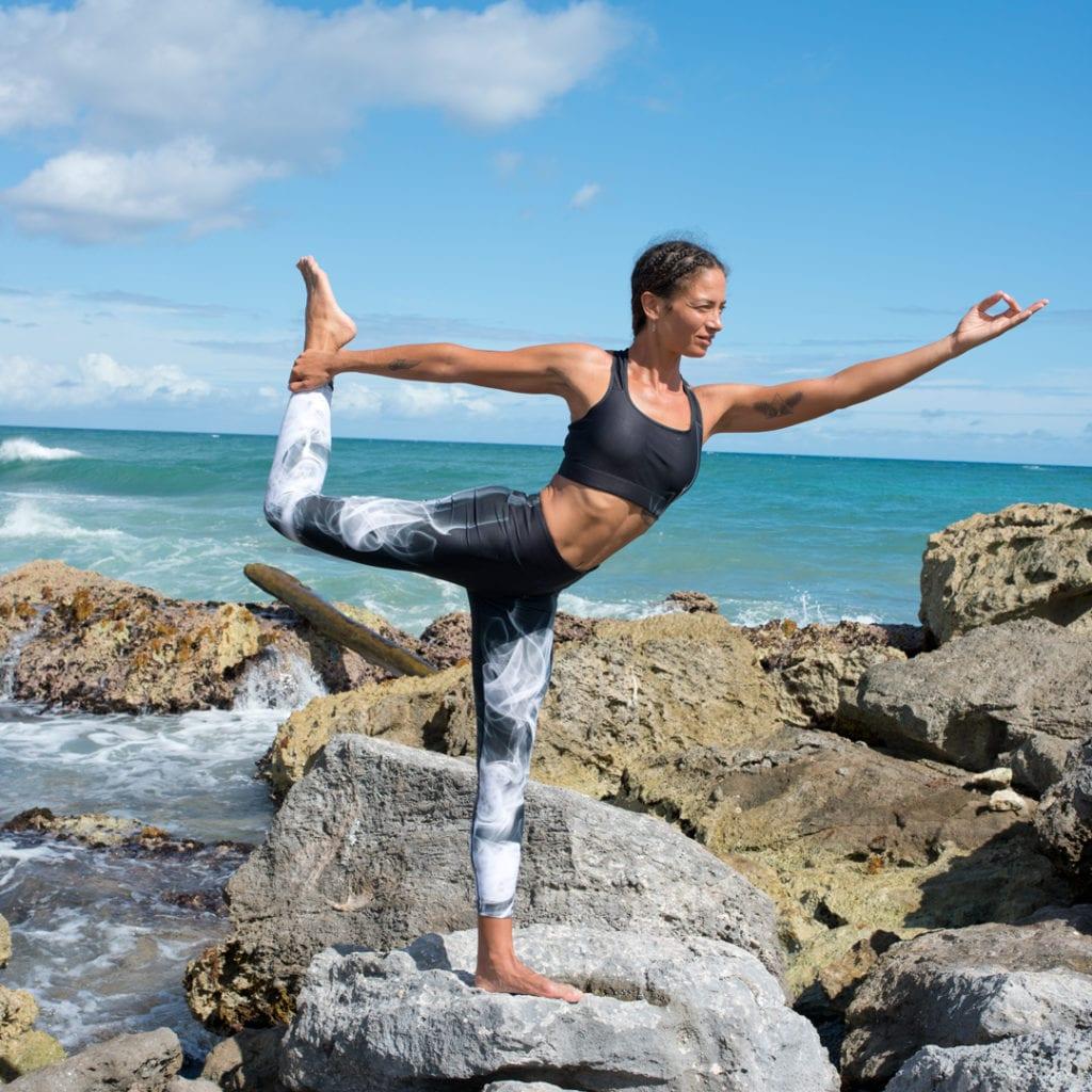 High Rise Yogalegging - Smokin Hot